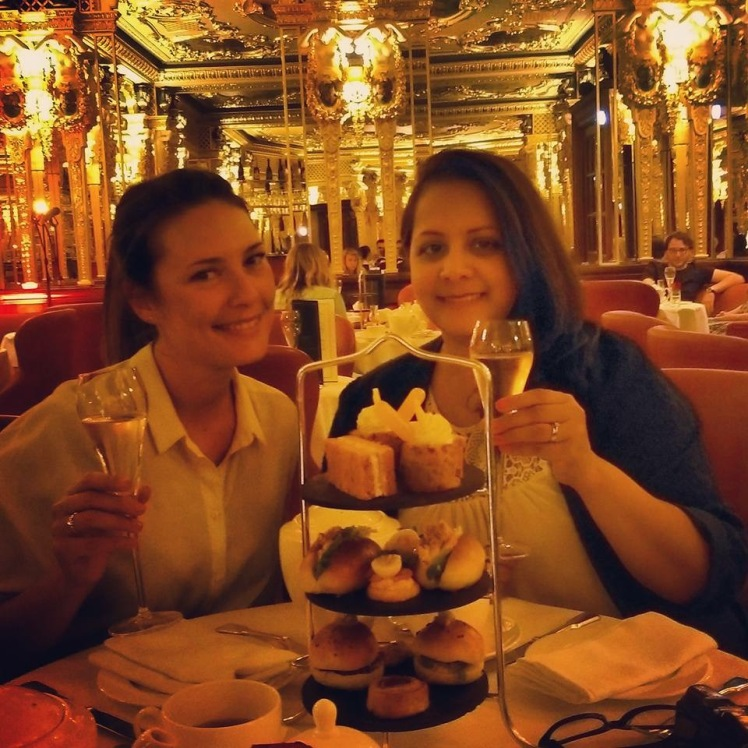 Cafe Royal afternoon champagne tea
