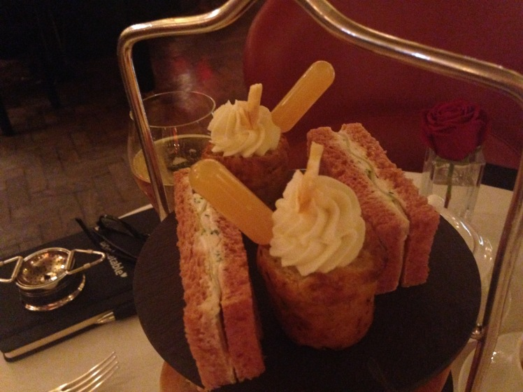 Cafe royal afternoon tea