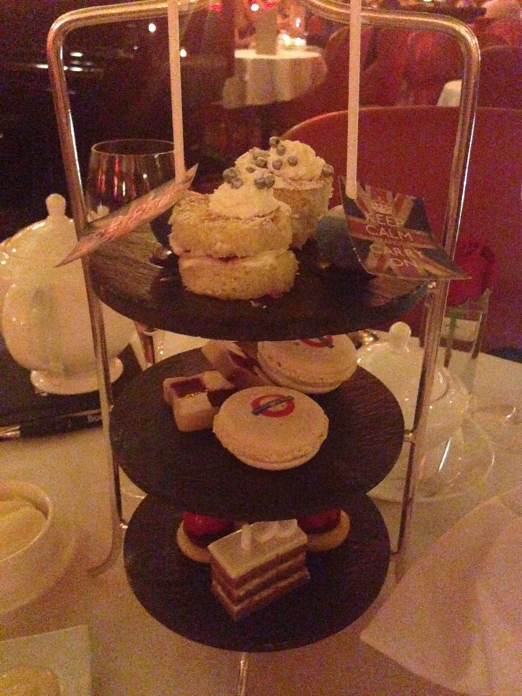 Cafe royal cake stand