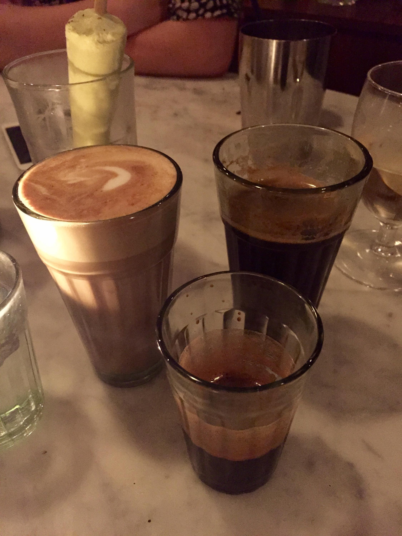 Dishoom coffee