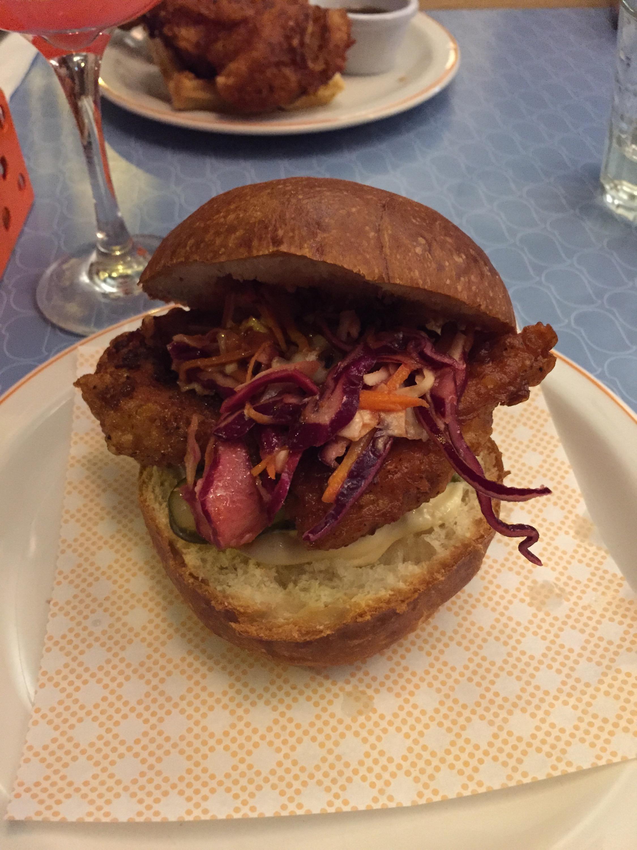 Bird Islington classic chicken burger