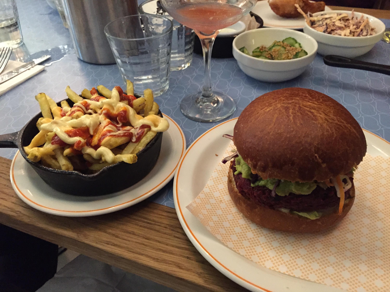 Beets burger
