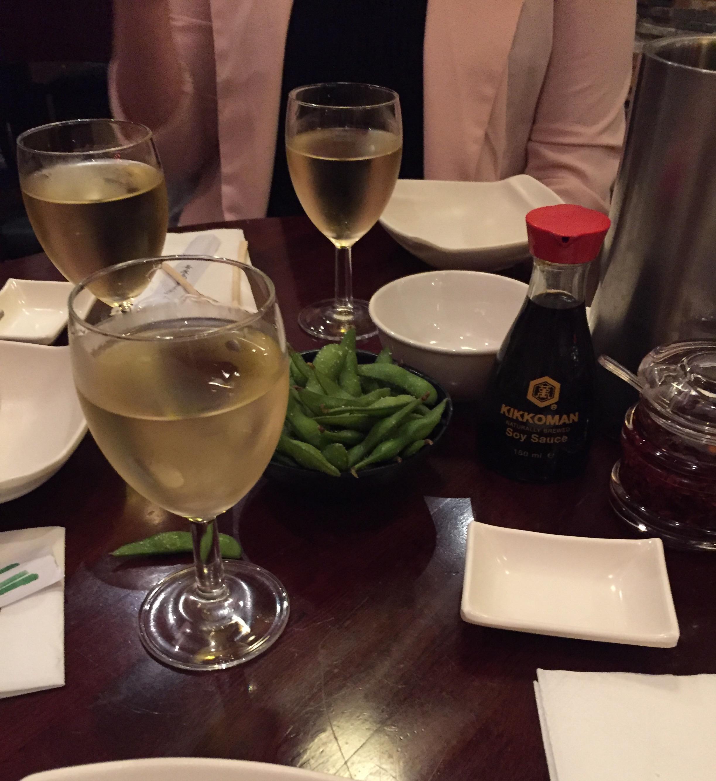 Bento Ramen house wine