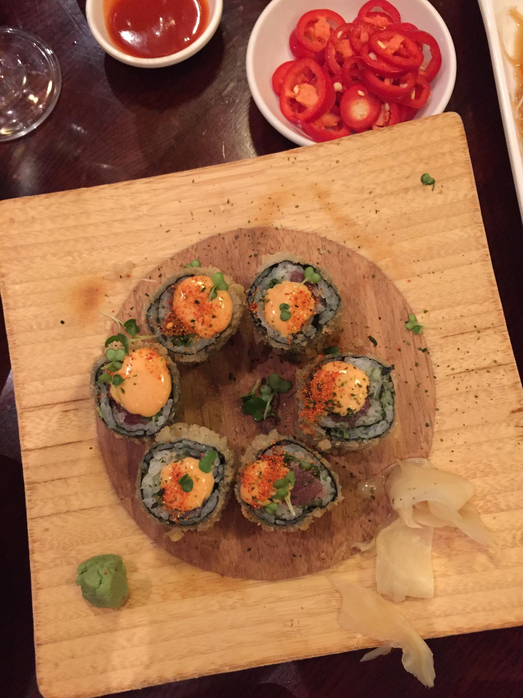 Bento Ramen Tempura spicy tuna