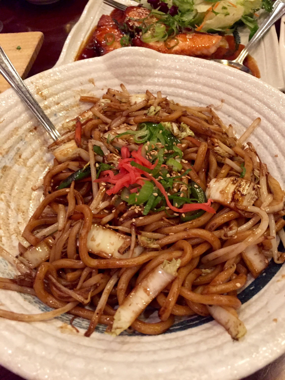 Bento Ramen vegetarian yaki udon