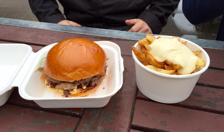 fries with truffle mayo southbank market