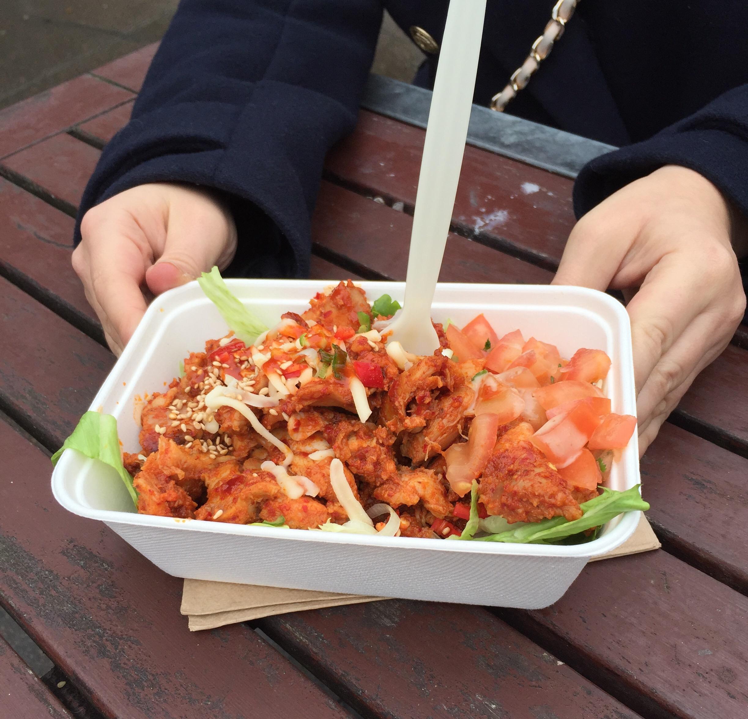 korrito Korean-style chilli chicken