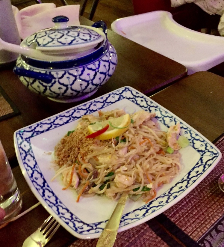 Chicken pad Thai The old siam