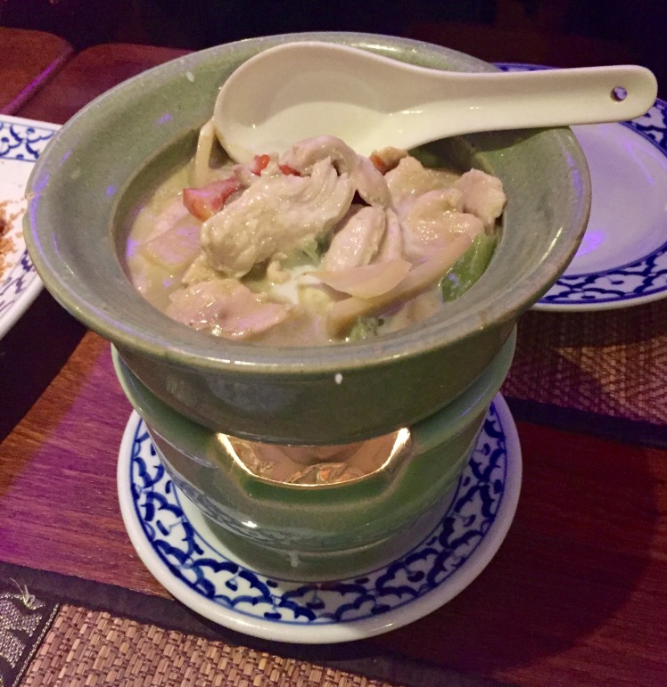 Green curry The old siam