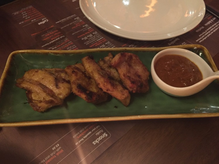 Busaba chicken satay