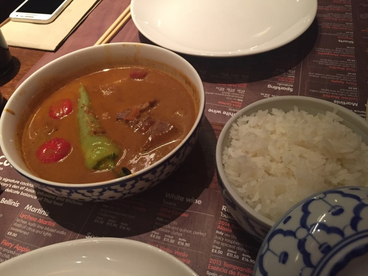 Busaba red curry