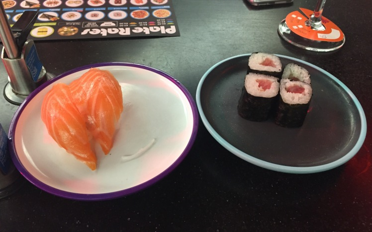 Yo! Sushi tuna maki