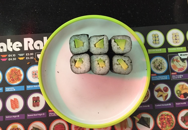 Yo! Sushi avocado maki