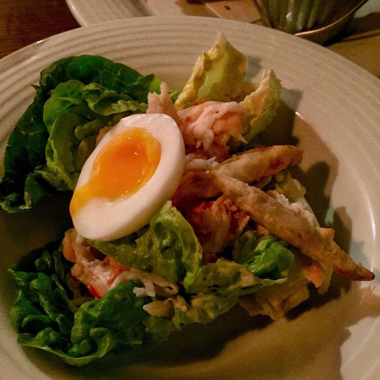crab tavern dressed crab caesar salad