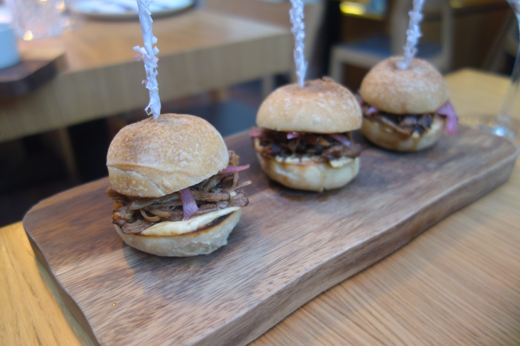 Artisan Bistro mini pork sliders