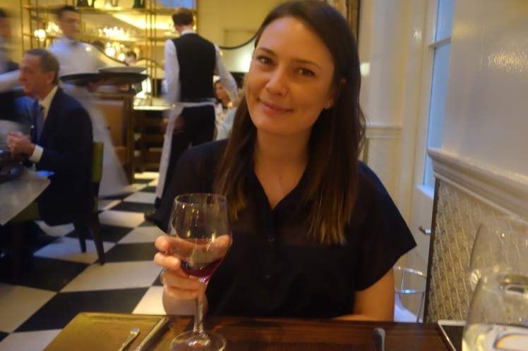 Kerry at Boulestin Mayfair