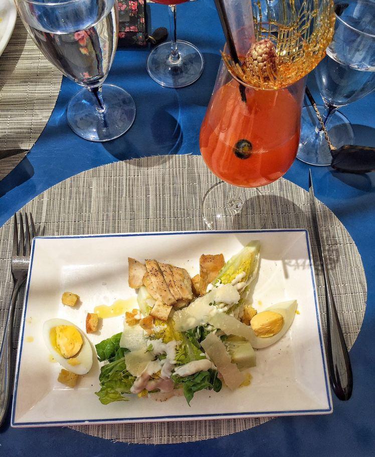 Caesar salad bellagio