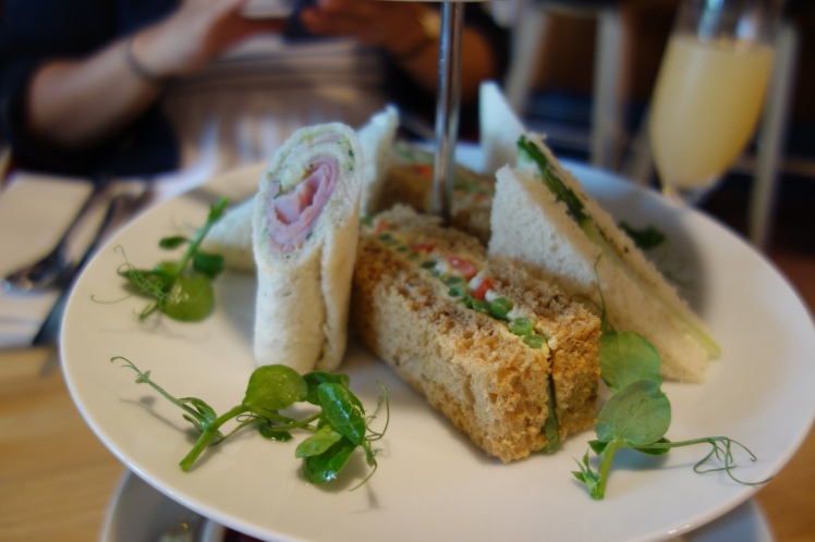 House Afternoon Tea Sandwiches
