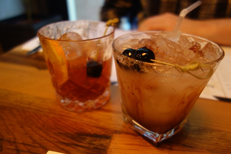 Bramble and Whisky Cocktails