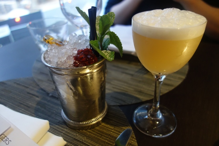 Jamming & Chartreuse Sour Cocktails