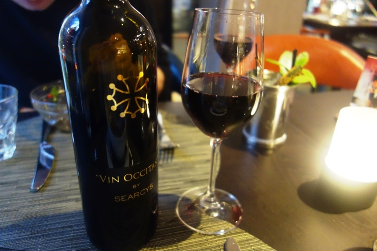 Searcys red wine