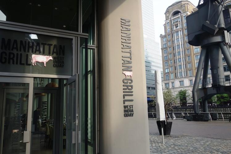 Manhattan Grill Entrance