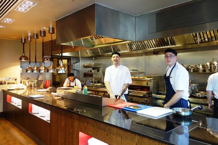 Manhattan Grill Open Kitchen