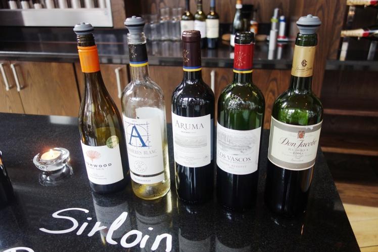 Wine Tasting Short List