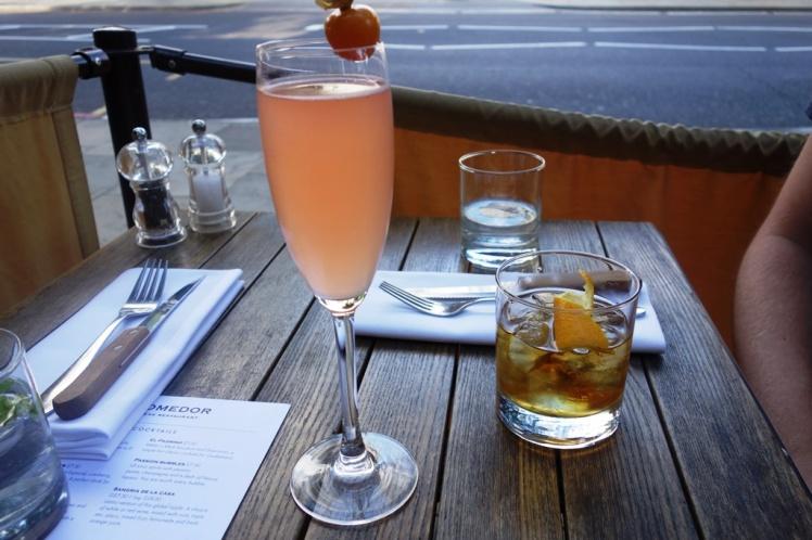 El Padrino & Passion Bubbles Cocktails