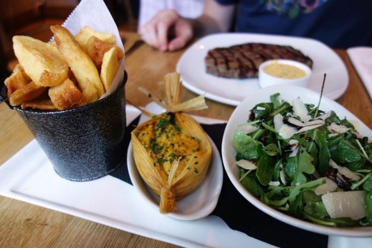 Triple Cooked Chips & Rocket Salad